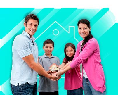 Fortalecemos hogares con los prestamos hipotecarios para casas nuevas o usadas con el mejor financiamiento y mejor tasa de interés