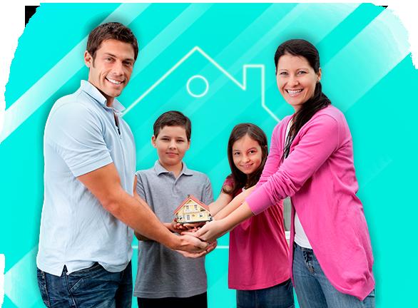 La Casa de tus sueños con préstamos hipotecarios, La casa de tus sueños para tu familia